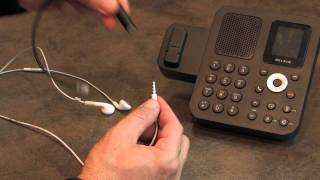 iPhone and Smartphone Headset to Office Phone - 3.5mm to RJ9 - YouTube