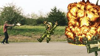 getlinkyoutube.com-Metal Slug in Real Life