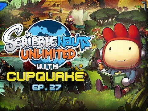 """MAGIC CARPET RIDE"" Scribblenauts Unlimited Ep 27"