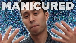 getlinkyoutube.com-Men Get Manicures For The First Time