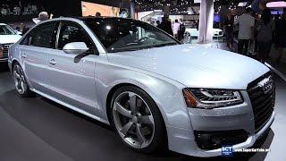 getlinkyoutube.com-2017 Audi A8L 4.0T Quattro - Exterior and Interior Walkaround - 2016 LA Auto Show