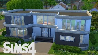 getlinkyoutube.com-The sims 4 house - speed build - Sunset [HD]