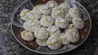 getlinkyoutube.com-غريبة الكوك ghriba Coconut /غريبة حلويات خديجة و حلويات العيد