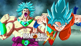 getlinkyoutube.com-Mastered SSGSS Broly VS SSGSS Goku | Dragon Ball Xenoverse MODS (Duels)