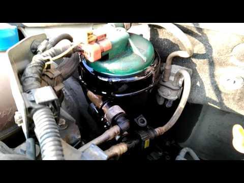 Потёк топливный фильтр на Добло 1.3. Fiat Doblo 1.3 JTD MultiJet.