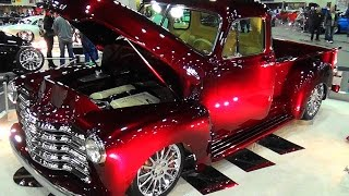 getlinkyoutube.com-1951 Chevrolet 3100 Custom Pickup  2016 Detroit Autorama