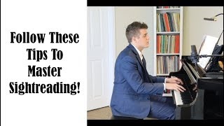 To Master Sightreading, Use This Simple Strategy - Josh Wright Piano TV