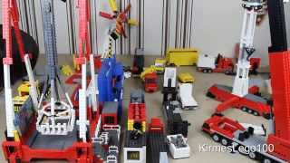 getlinkyoutube.com-Lego Kirmes Aufbau | Timelapse | KirmesLego100 | HD