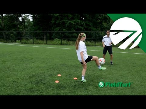 Thigh Trap │ Passing Drill │ Soccer Training with Mike Sorber