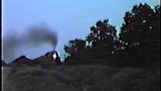 getlinkyoutube.com-N&W J, 611 roars past at 60 and 70 mph on the Nickel Plate Road in PA & NY. August 12, 1984