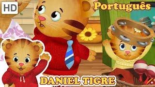 Daniel Tigre Em Português   Daniel E Bebê Margaret Jogar Escola   Vídeos Para Crianças