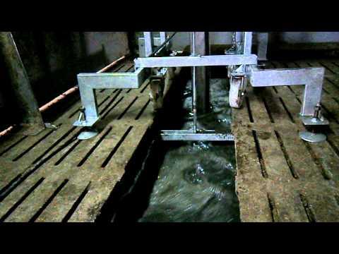 AGROMOTOR - mieszadło podrusztowe MGP 5,5 do gnojowicy - skuteczność