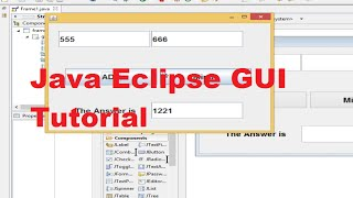 getlinkyoutube.com-Java Eclipse GUI Tutorial 3 # Database  Connection ( Sqlite )  to Java  Part 1 of 2