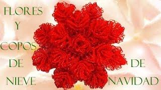 getlinkyoutube.com-Manualidades moños y decoraciones navideñas- Crafts bows and Christmas decorations