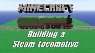 getlinkyoutube.com-Minecraft. Building a basic Steam Locomotive