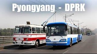 getlinkyoutube.com-PYONGYANG TROLLEYBUS - Der O-Bus in Pyongyang (19.-25.04.2014)