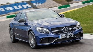 getlinkyoutube.com-New Mercedes-Benz AMG C63 tested on road and track - car review