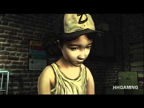 The Walking Dead Game episode 1 Full walkthrough no commentary Part 1 HD Gameplay