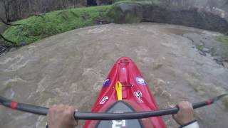getlinkyoutube.com-Gopro Drainage Ditch Kayaking