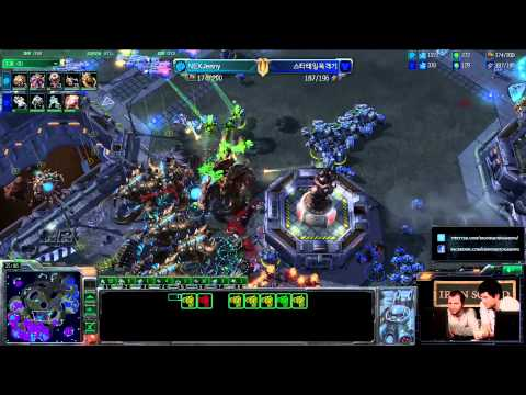(HD415) Bomber vs NexLife - TvZ - Qualifications Iron Squid [Starcraft 2 FR]