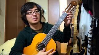 getlinkyoutube.com-ミニクラシックギター ヤマハ CS40J / YAMAHA