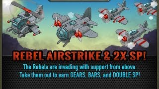 Battle Nations: The Rebel Airstrike!