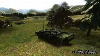 Metal Cavalry Unity Tank Game - Online 3D Game