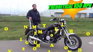 HONDA MAGNA V65 (VF1100) REVIEW