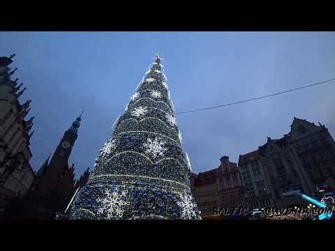 Вроцлав новогодний, Польша / Wrocław, Boże Narodzenie, Polska / Wroclaw, Christmas, Poland
