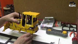 getlinkyoutube.com-JRP RC - Bruder Bulldozer Rc Conversion Pt 2 Tear Down
