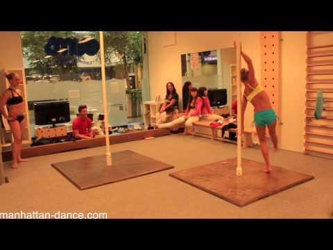 Olia Trifonova vs @OonaKivela Pole Dance