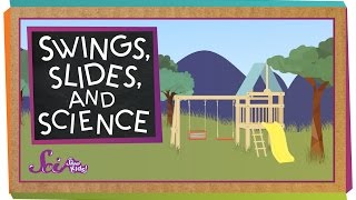 Swings, Slides, and Science | Physics for Kids width=