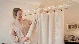 getlinkyoutube.com-How to make curtains without sewing (in minutes!)