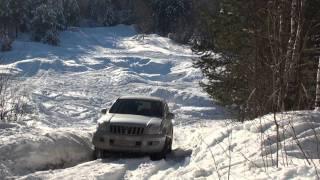 getlinkyoutube.com-Toyota Prado & Land Rover Discovery & KIA Mohave