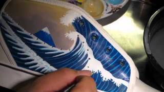 getlinkyoutube.com-Custom Nike Shoe
