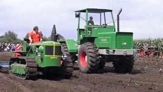 getlinkyoutube.com-Feldtag Nordhorn - Deutz Allrad Knicklenker - Eicher Trecker - Fend Mähen - Hanomag Traktoren