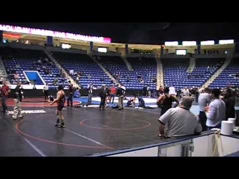 Matt Paris (Central) vs Brendon Marcoux-Schaefer (Mt Anthony) Quarterfinals Lowell Holiday - 2012