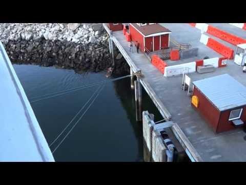 Cruise Ship Docking Procedures