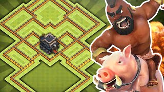 getlinkyoutube.com-Clash of Clans - EPIC TH9 Hybrid Base!! NEW TH11 December Update!! - (CoC Town hall 9 Farming Base)