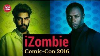 SDCC 2016: Malcolm Goodwin e Rahul Kohli de iZombie