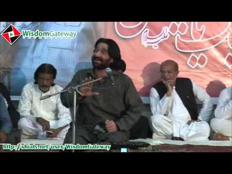 Nadeem Sarwar recites Salam at the Soyam of Shaheed Ustad Sibte Jafar