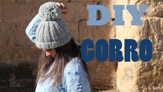 getlinkyoutube.com-DIY Como hacer gorro de lana (patrón gratis)