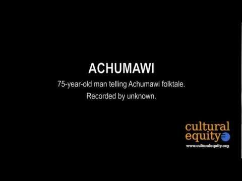 Parlametrics: Achumawi