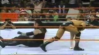 UnderTaker Vs. Rock (Casket Match) (Raw-1999)