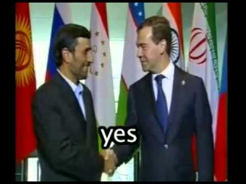 Mahmoud Ahmadinejad CAN SPEAK ENGLISH!