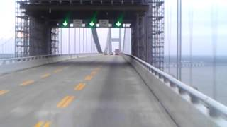 getlinkyoutube.com-Driving over chesapeake bay bridge in Maryland!!