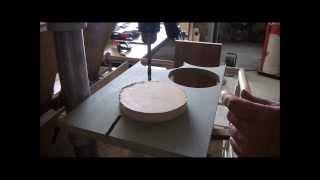 getlinkyoutube.com-Band Saw 1 - wheels - Wood Machine - Construction
