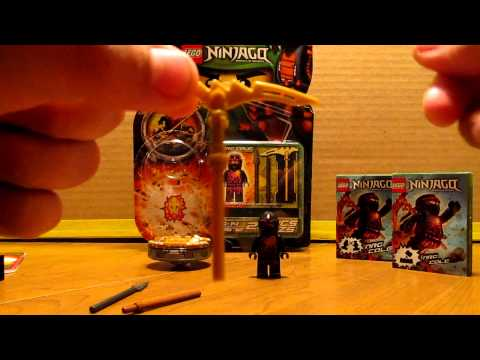 Lego Ninjago 9572 NRG Cole Spinner Set Review