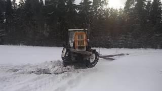 getlinkyoutube.com-Wyciąganie drzewa Wheelie c360 3P