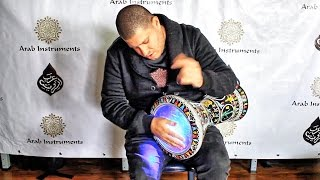getlinkyoutube.com-Darbuka Dance Light  - Control Your Strokes Lights